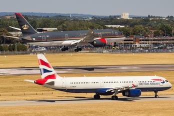 G-MEDM - British Airways Airbus A321