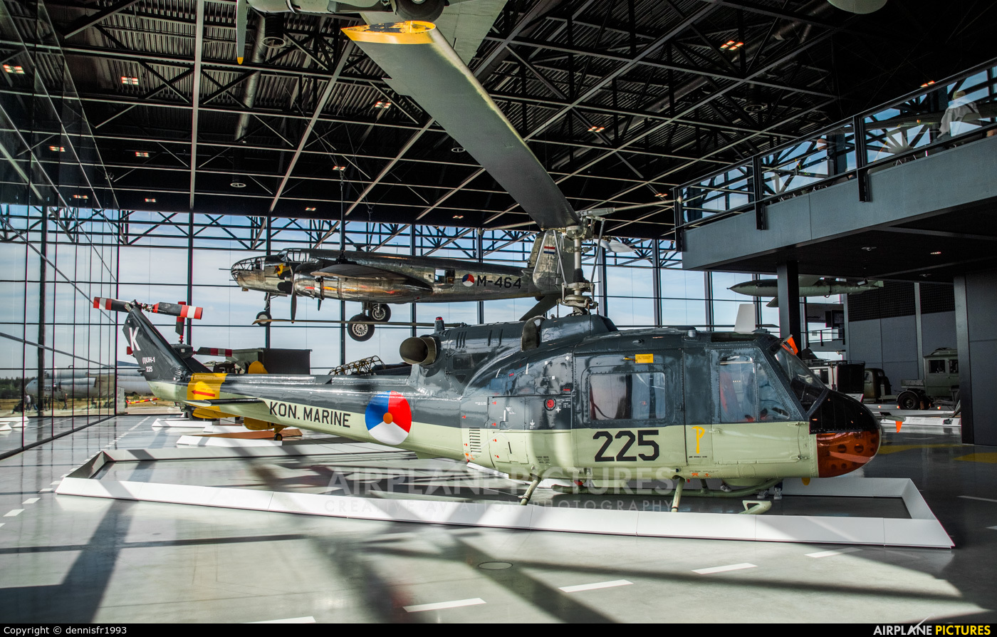 Netherlands - Navy 225 aircraft at Soesterberg - Nationaal Militair Museum