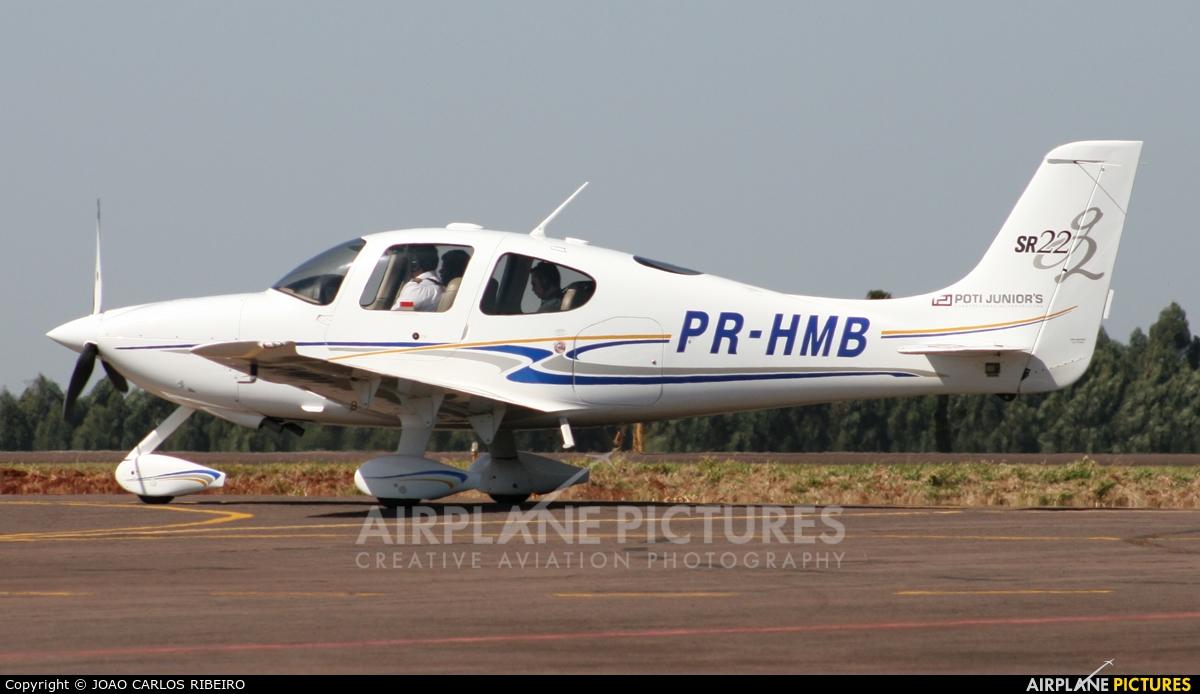 Private PR-HMB aircraft at Municipal Airport Cascavel
