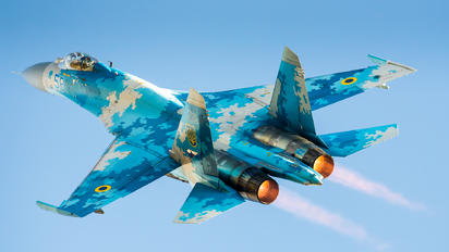 58 - Ukraine - Air Force Sukhoi Su-27P