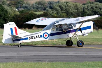 G-AZBU - Private Auster AOP.9 Alpha