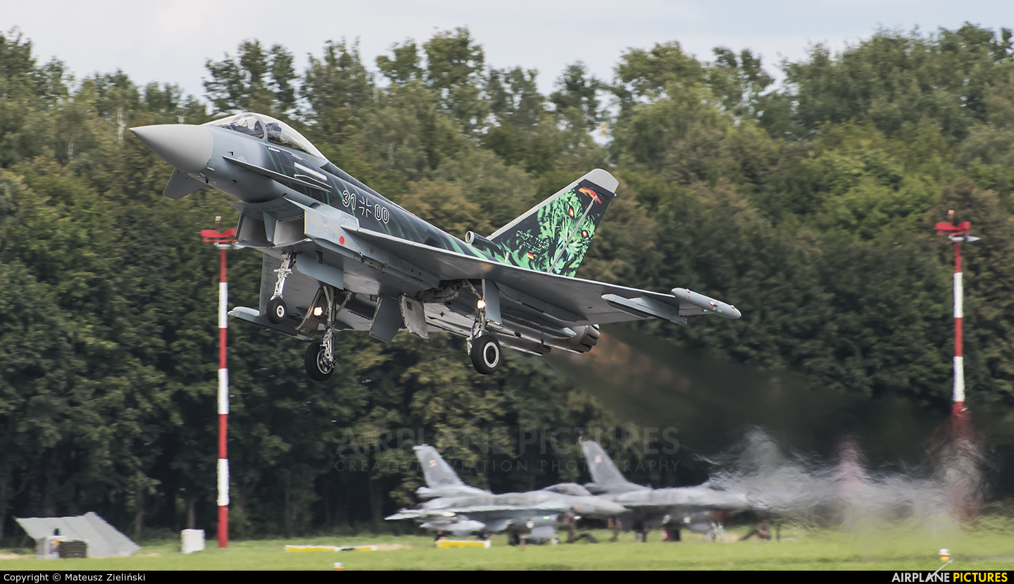 Germany - Air Force 31+00 aircraft at Radom - Sadków