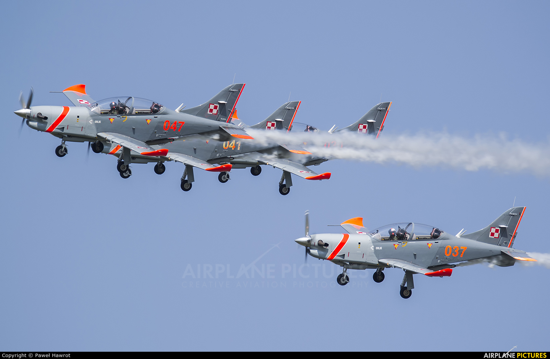 "Poland - Air Force ""Orlik Acrobatic Group"" 037 aircraft at Radom - Sadków"
