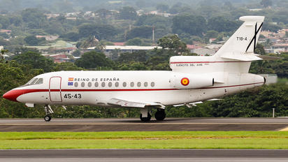 T.18-1 - Spain - Air Force Dassault Falcon 900 series