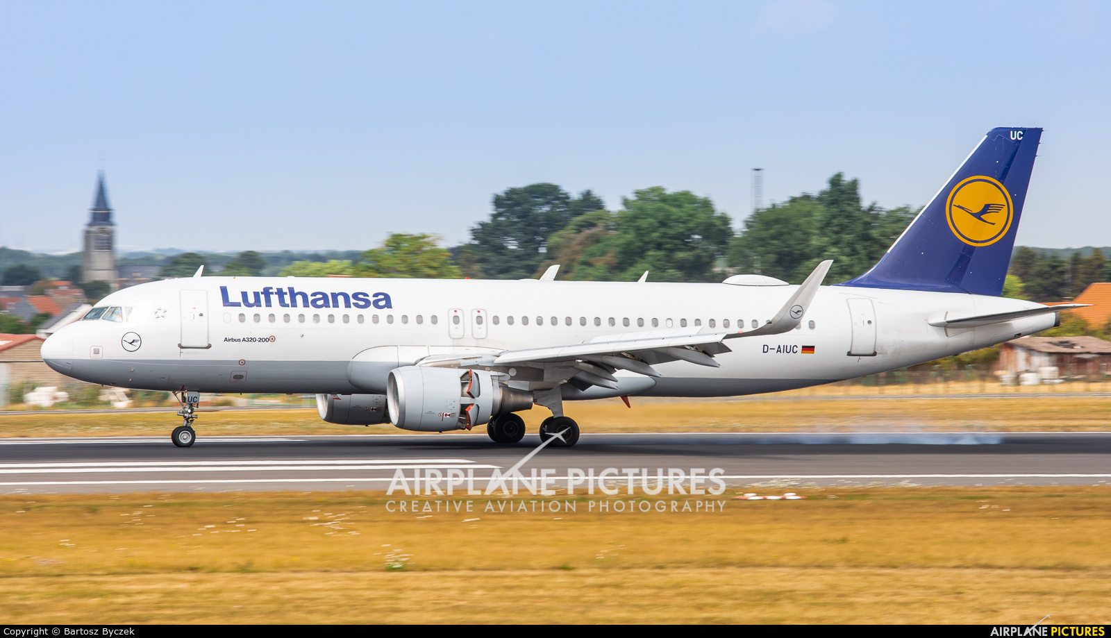 Lufthansa D-AIUC aircraft at Brussels - Zaventem