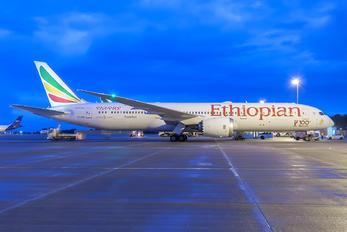 ET-AUQ - Ethiopian Airlines Boeing 787-9 Dreamliner