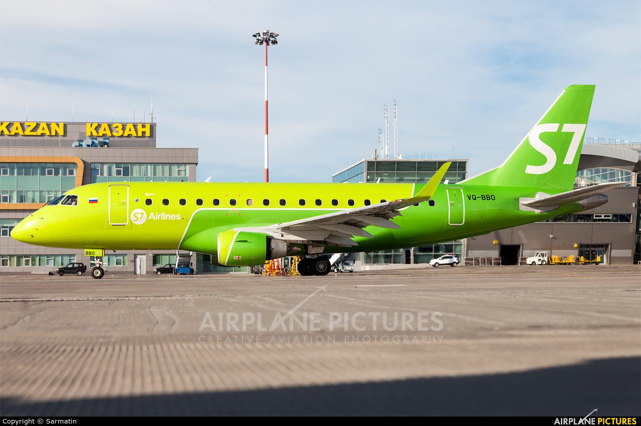S7 Airlines VQ-BBO aircraft at Kazan