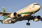 YI-ARB - Iraqi Airways Airbus A320 aircraft