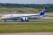 ANA B789 made a rare charter flight from Narita to Helsinki title=