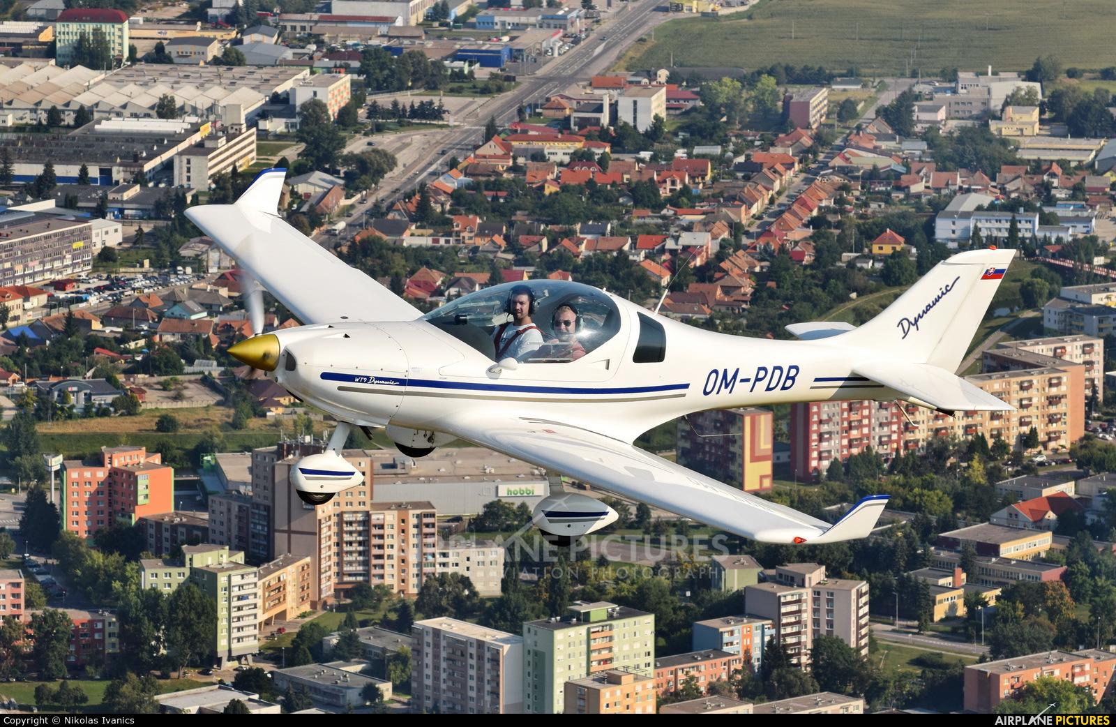 Aeroklub Prievidza OM-PDB aircraft at In Flight - Slovakia