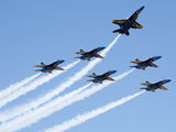 163766 - USA - Navy : Blue Angels McDonnell Douglas F-18C Hornet aircraft