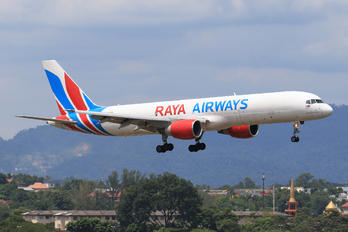 9M-RYA - Raya Airways Boeing 757-200F