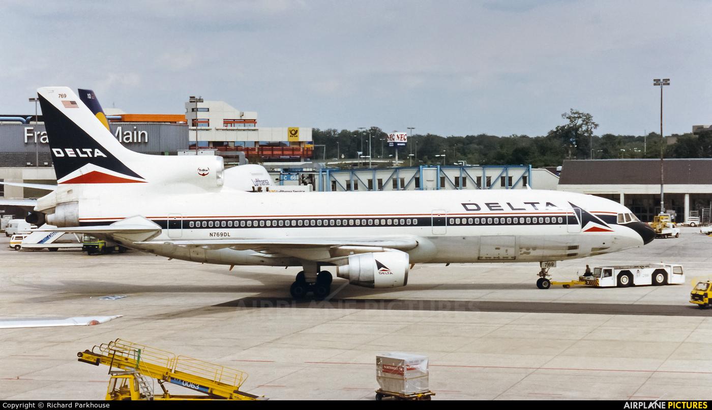 Delta Air Lines N769DL aircraft at Frankfurt