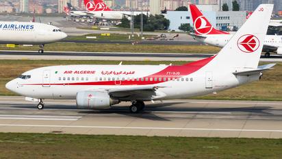 7T-VJQ - Air Algerie Boeing 737-600