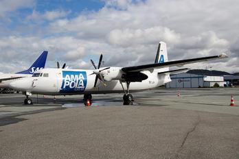 SE-LJV - AmaPola Flyg Fokker 50F