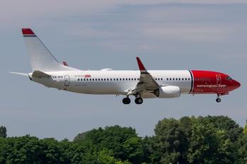 LN-NHF - Norwegian Air Shuttle Boeing 737-800