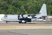 US Marine Corps Lockheed KC-130 visited Seattle Boeing Field title=