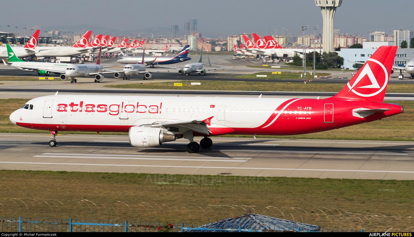 Atlasglobal TC-ATB aircraft at Istanbul - Ataturk