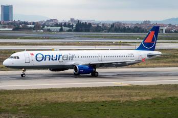 TC-OBK - Onur Air Airbus A321