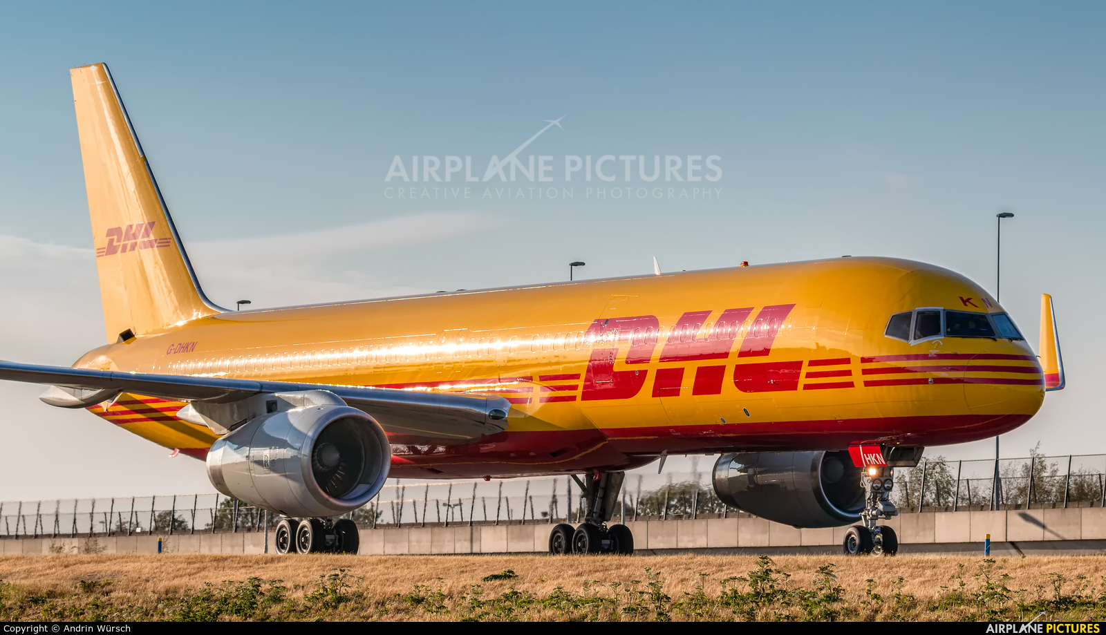 DHL Cargo G-DHKN aircraft at Amsterdam - Schiphol