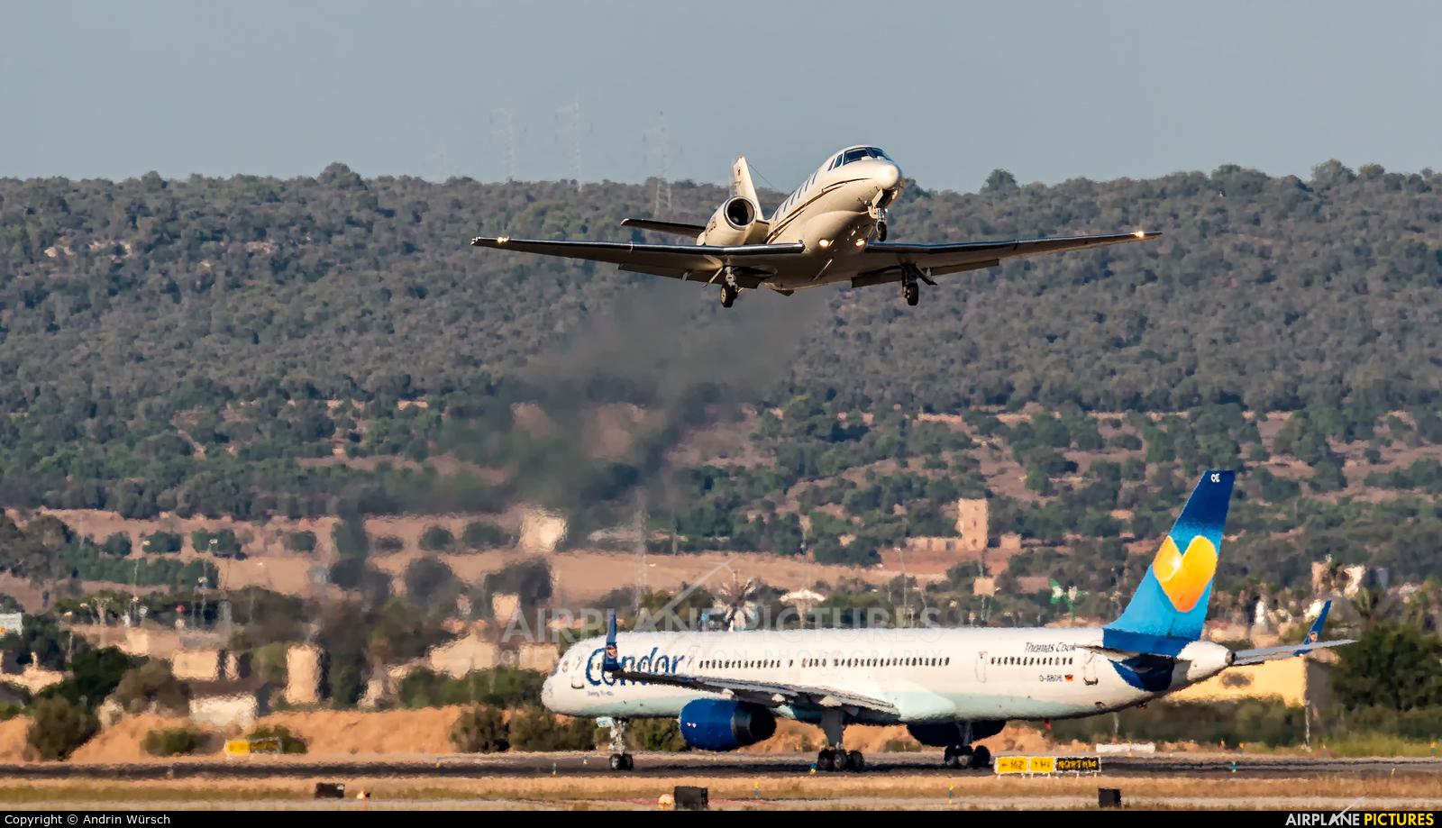 Jet Service D-COBI aircraft at Palma de Mallorca