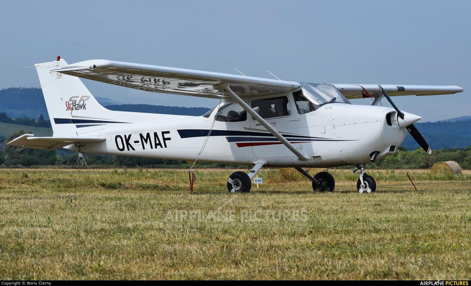 Private OK-MAF aircraft at Dubnica nad Vahom - Slavnica