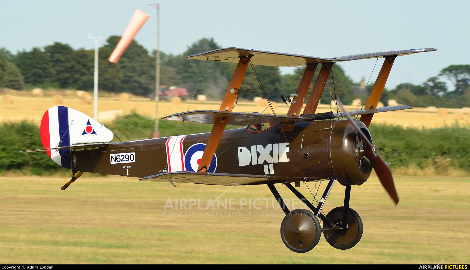 The Shuttleworth Collection G-BOCK aircraft at Old Warden