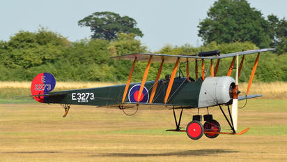 G-ADEV - The Shuttleworth Collection Avro 504K
