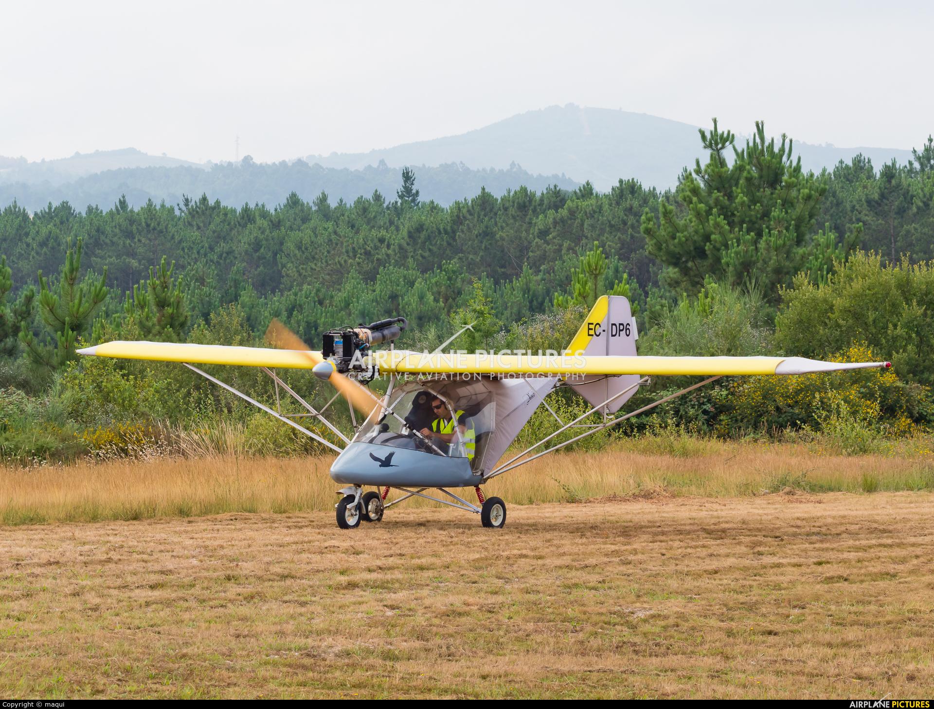 Private EC-DP6 aircraft at Aerodrome Cerval