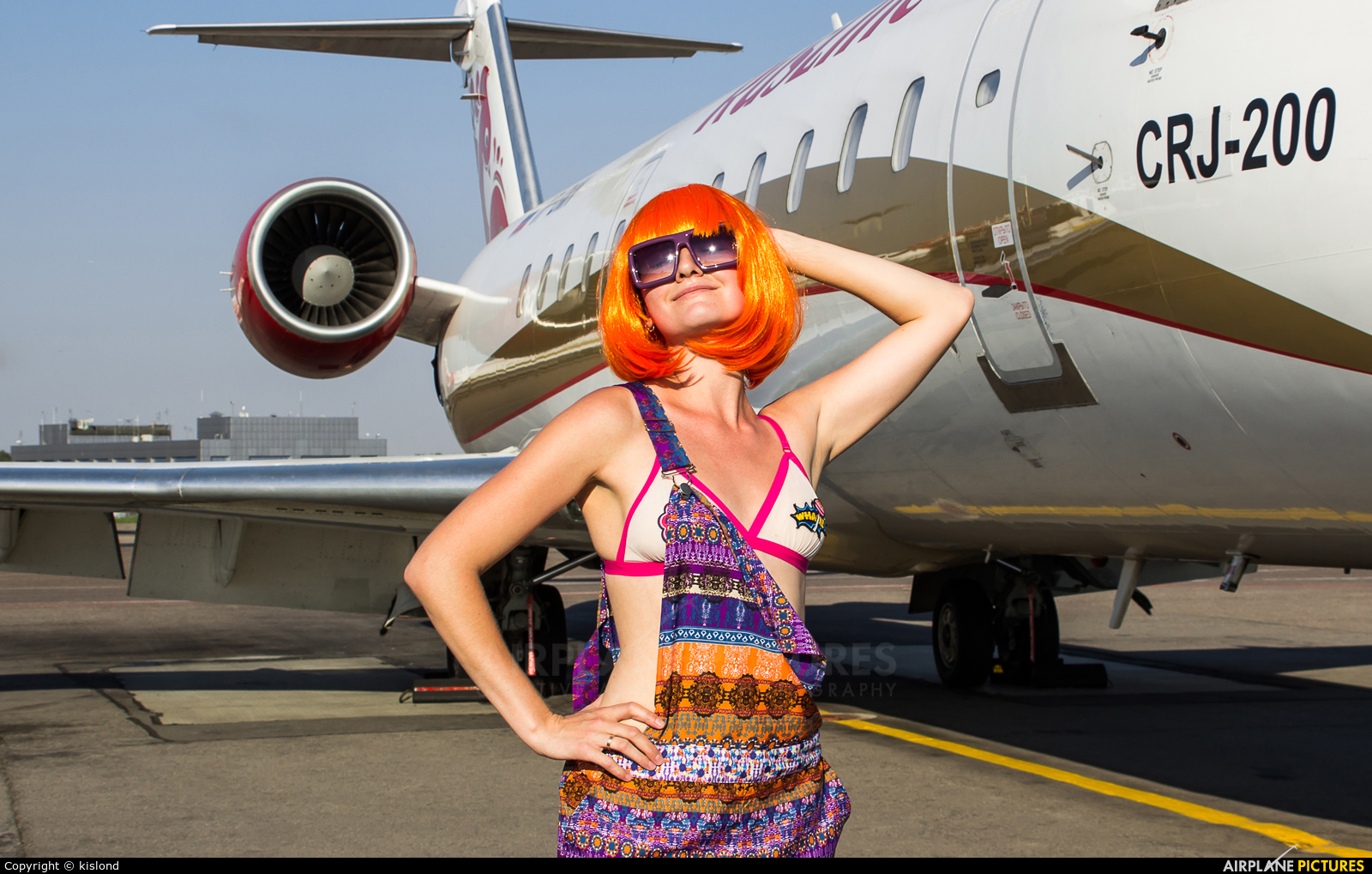 - Aviation Glamour - aircraft at Moscow - Vnukovo