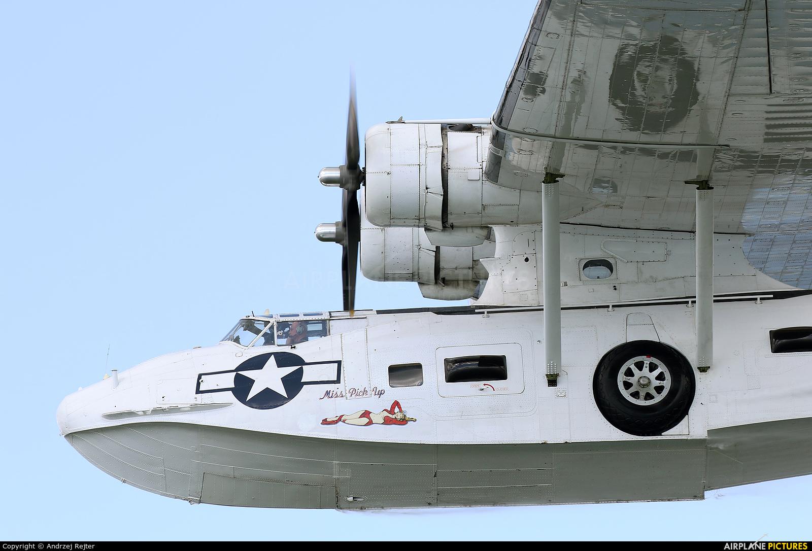 Catalina Aircraft G-PBYA aircraft at Giżycko