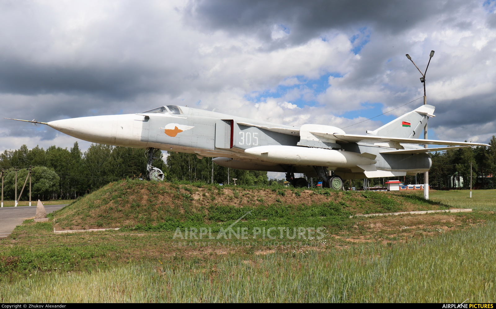 Belarus - Air Force 305 aircraft at Off Airport - Belarus