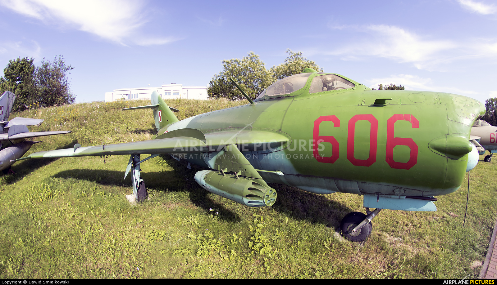 Poland - Air Force 606 aircraft at Kraków, Rakowice Czyżyny - Museum of Polish Aviation