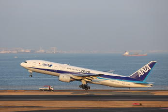JA744A - ANA - All Nippon Airways Boeing 777-200ER