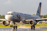 VQ-BRE - Ural Airlines Airbus A320 aircraft