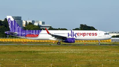 B-LEI - Hong Kong Express Airbus A321