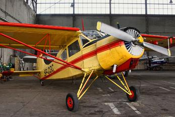 SP-CGC - Aeroklub Gliwicki PZL 101 Gawron