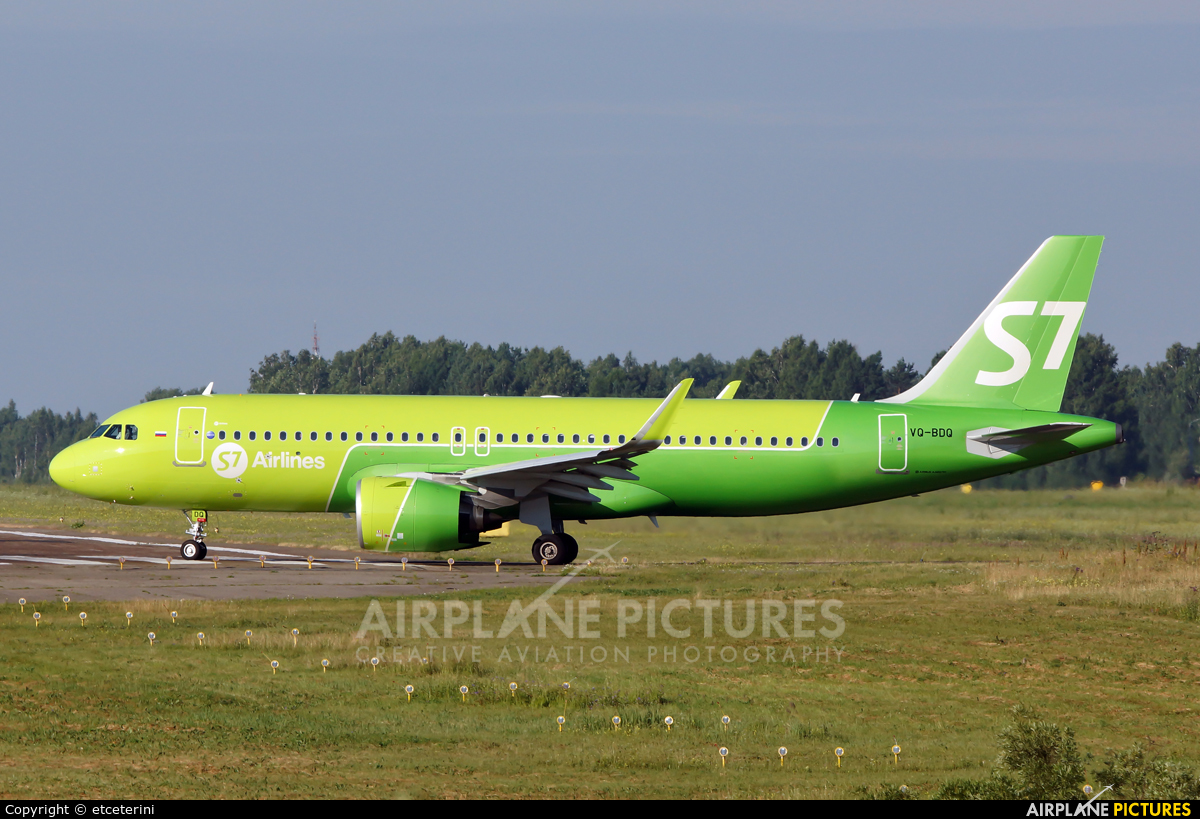 S7 Airlines VQ-BDQ aircraft at Tomsk - Bogashevo