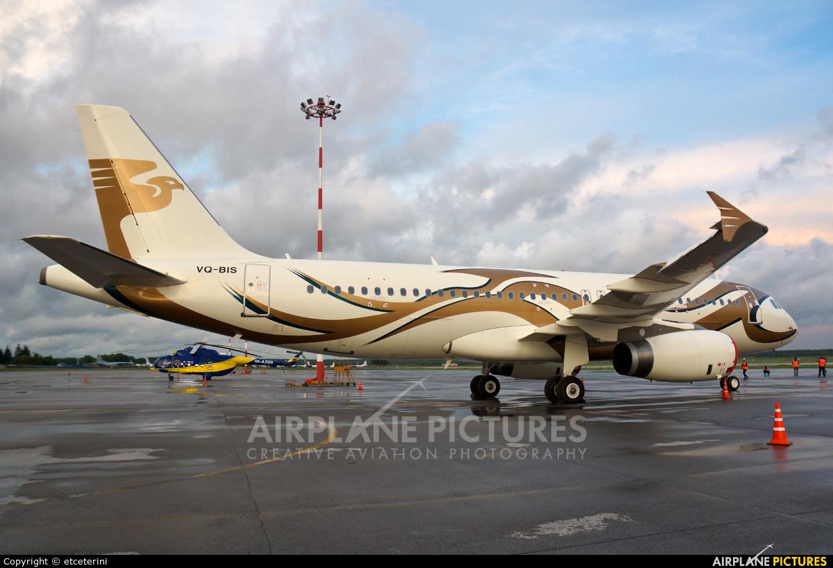 Private VQ-BIS aircraft at Koltsovo - Ekaterinburg