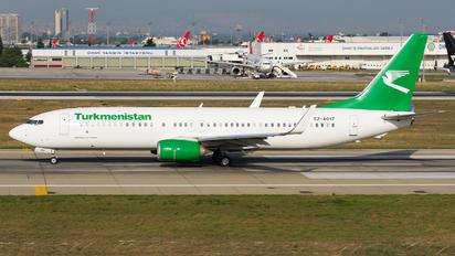 EZ-A017 - Turkmenistan Airlines Boeing 737-800