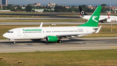 EZ-A005 - Turkmenistan Airlines Boeing 737-800