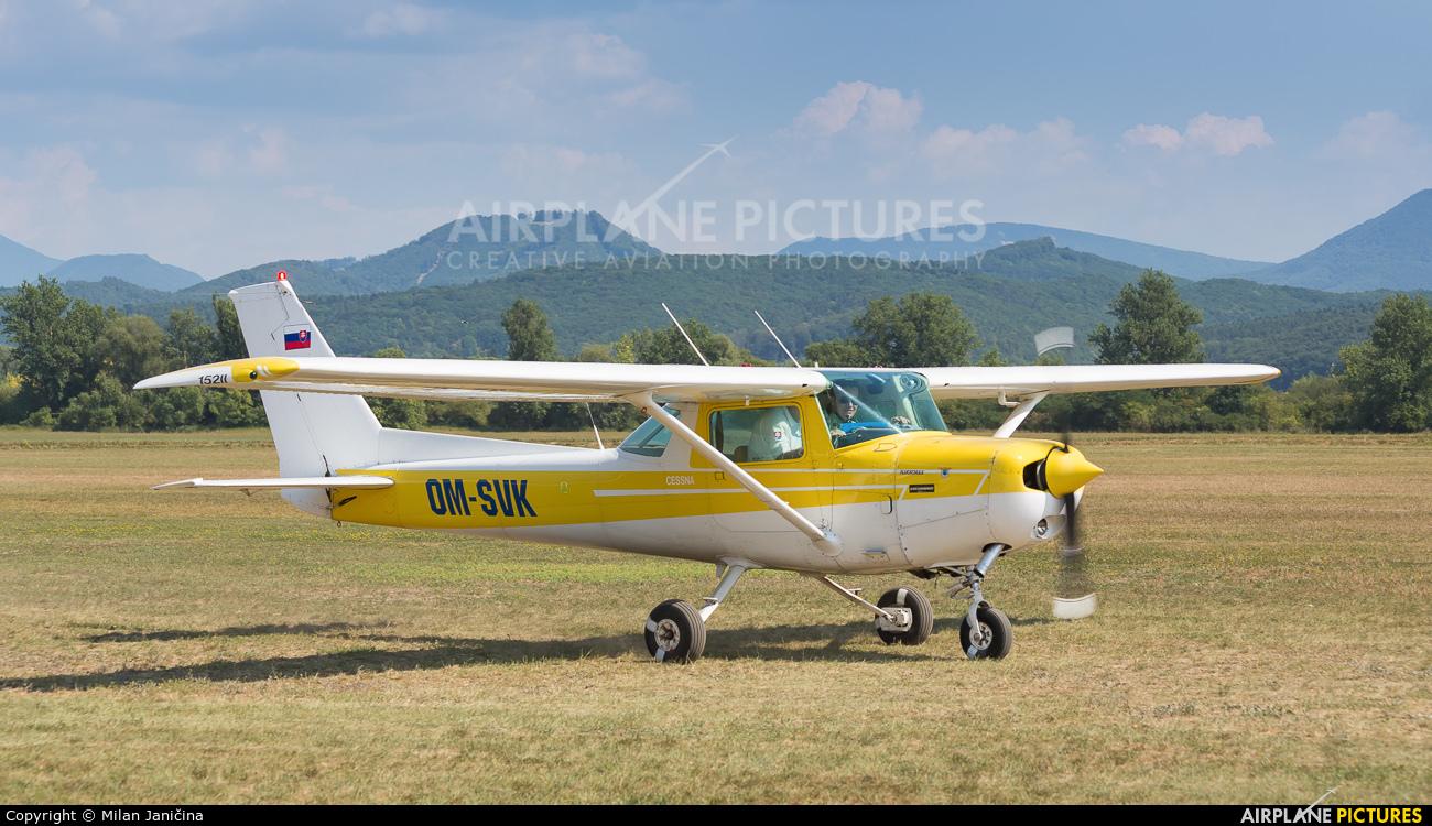 Aeroklub Trenčín OM-SVK aircraft at Dubnica nad Vahom - Slavnica