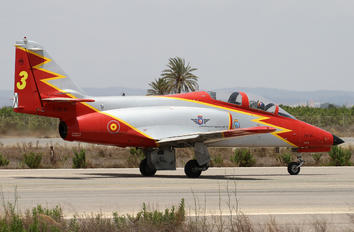 E.25-31 - Spain - Air Force : Patrulla Aguila Casa C-101EB Aviojet