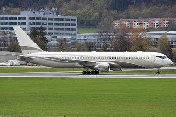P4-MES - Global Jet Luxembourg Boeing 767-300ER