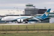 A4O-SY - Oman Air Boeing 787-8 Dreamliner aircraft