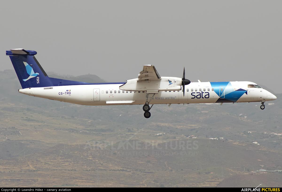 SATA Air Açores CS-TRD aircraft at Aeropuerto de Gran Canaria