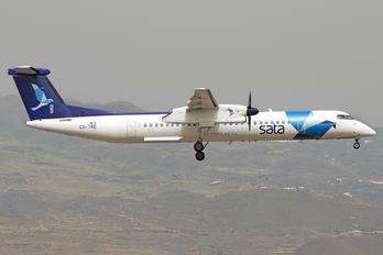 CS-TRD - SATA Air Açores de Havilland Canada DHC-8-400Q / Bombardier Q400