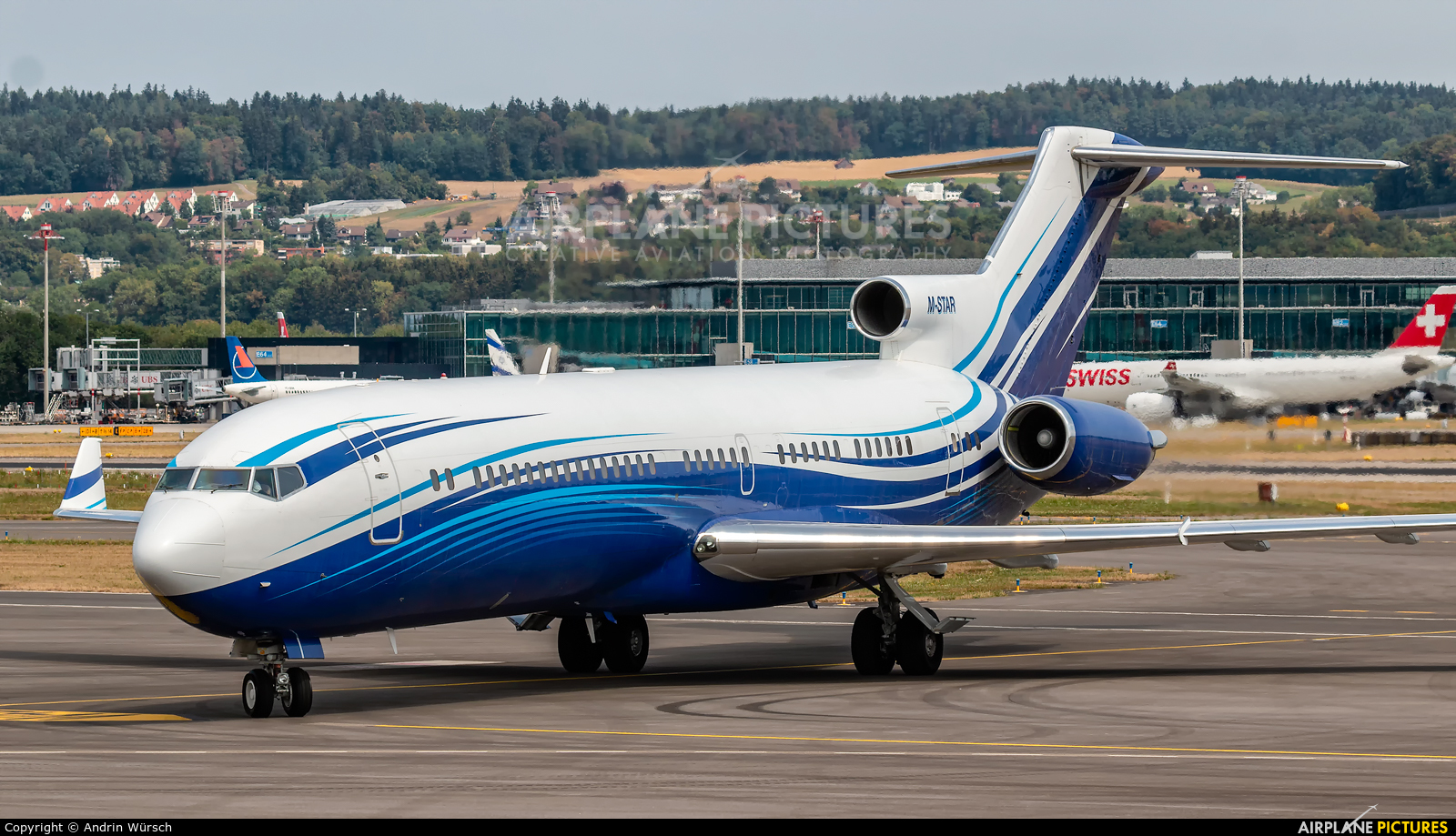Starling Aviation M-STAR aircraft at Zurich