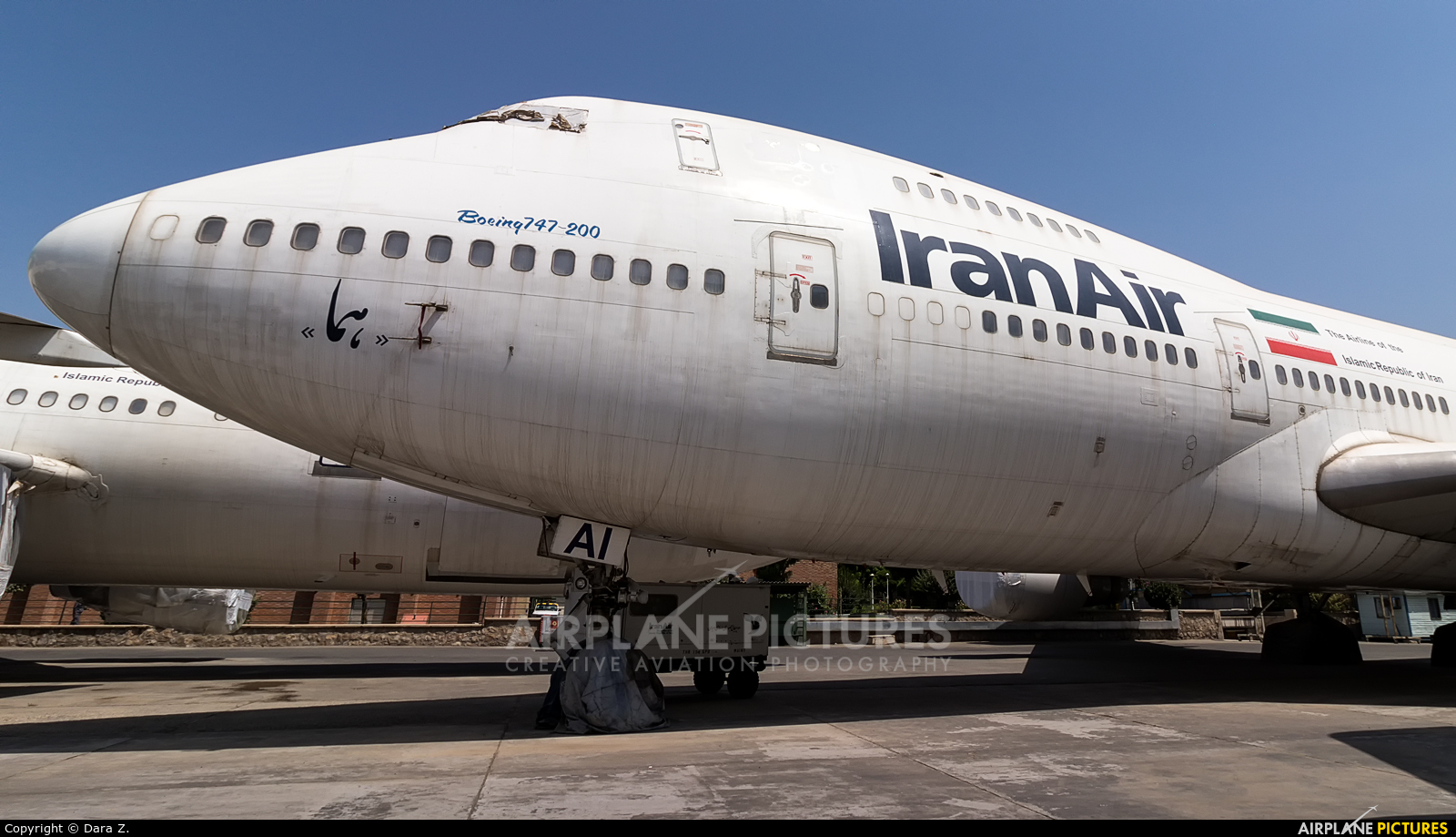 Iran Air EP-IAI aircraft at Tehran - Mehrabad Intl
