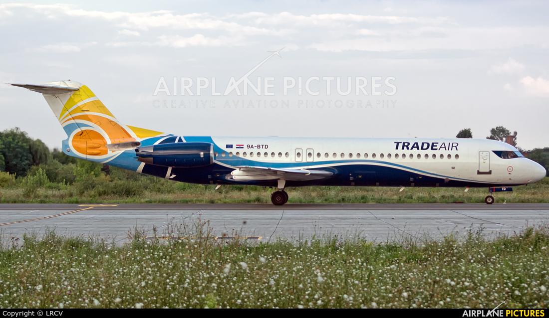 Trade Air 9A-BTD aircraft at Craiova
